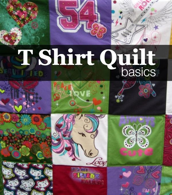 How to Make a TShirt Quilt: Finishing | Learning : turning t shirts into quilts - Adamdwight.com