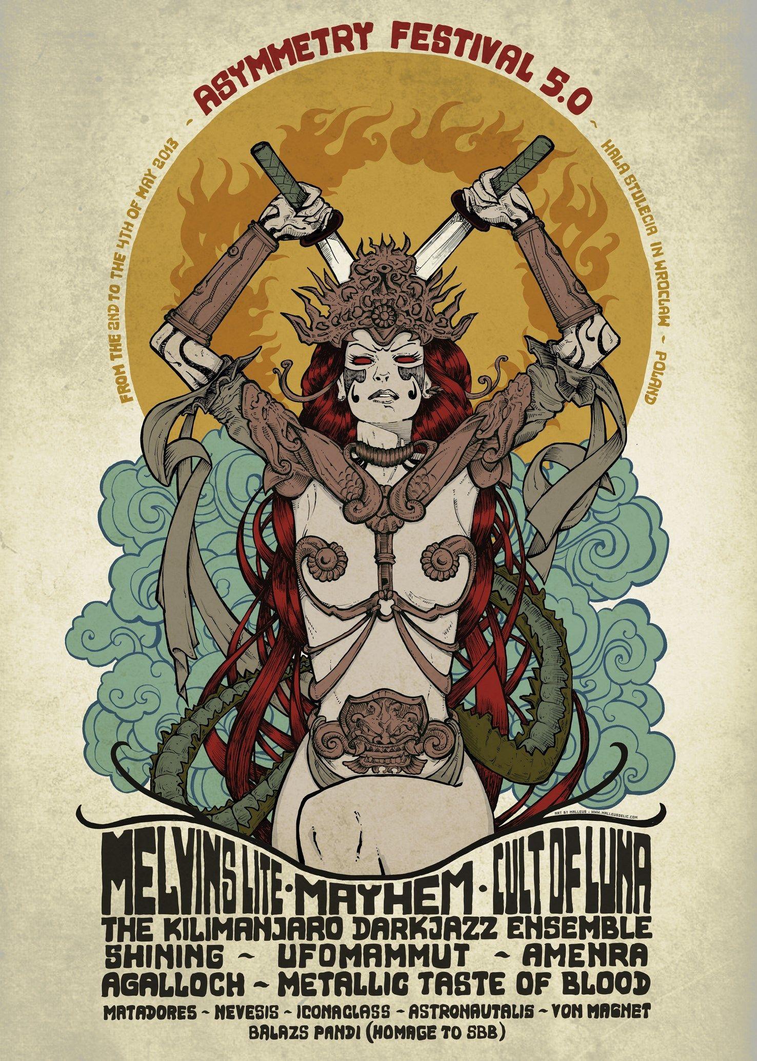 Melvins Lite, Mayhem, Cult Of Luna, The Kilimanjaro Darkjazz ...