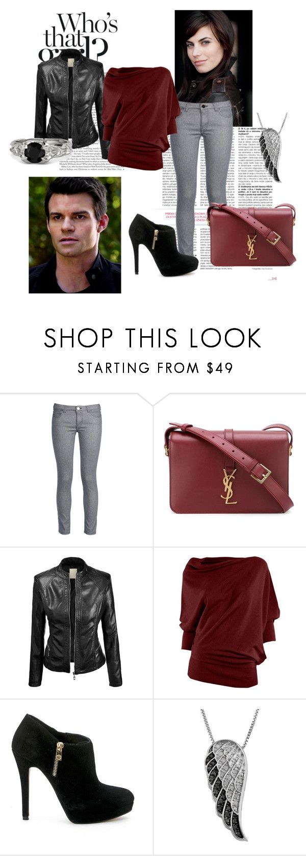 """""""Unbenannt #61"""" by melli91 ❤ liked on Polyvore featuring George J. Love, Yves Saint Laurent, Max Studio, MICHAEL Michael Kors, Jewel Exclusive, Gemvara, women's clothing, women, female and woman"""