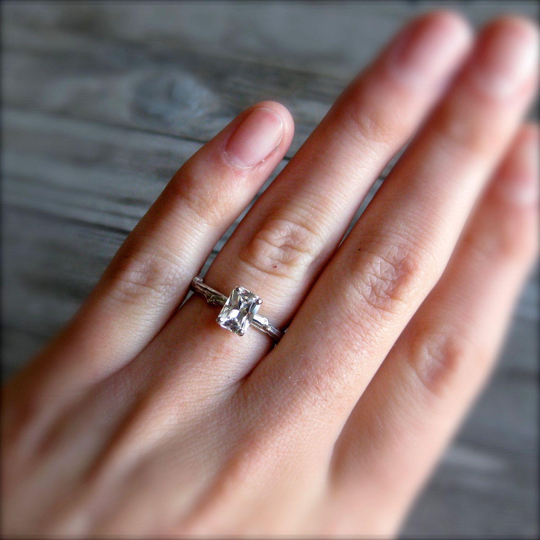 Rings weddings pinterest twig ring