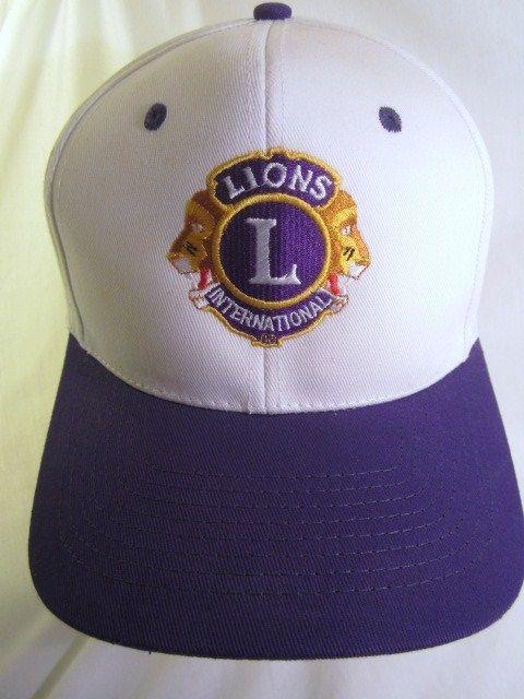 1b3893177140c Lions Club International Hat Vintage Trucker Snapback Ball Cap ...