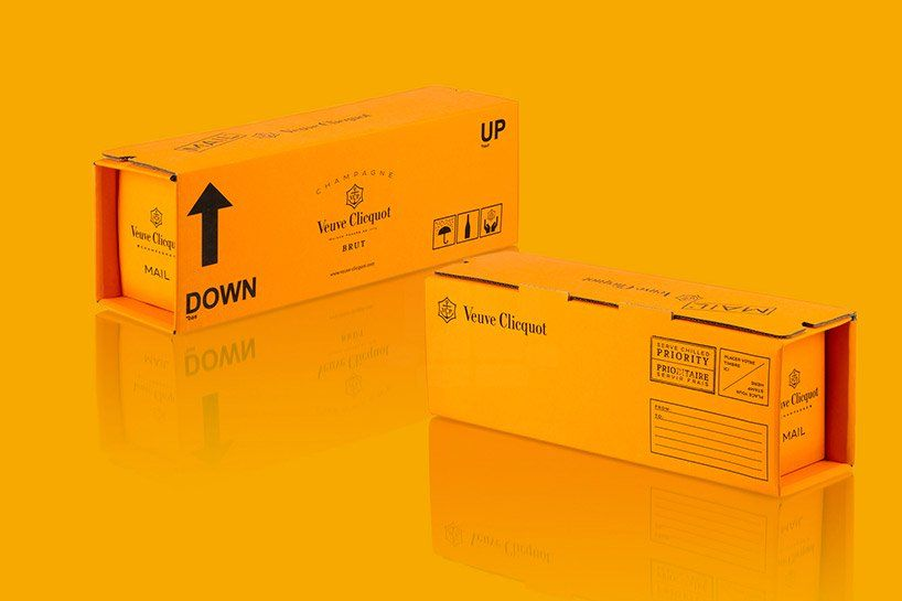 veuve clicquot + 5.5 designstudio present the mail collection