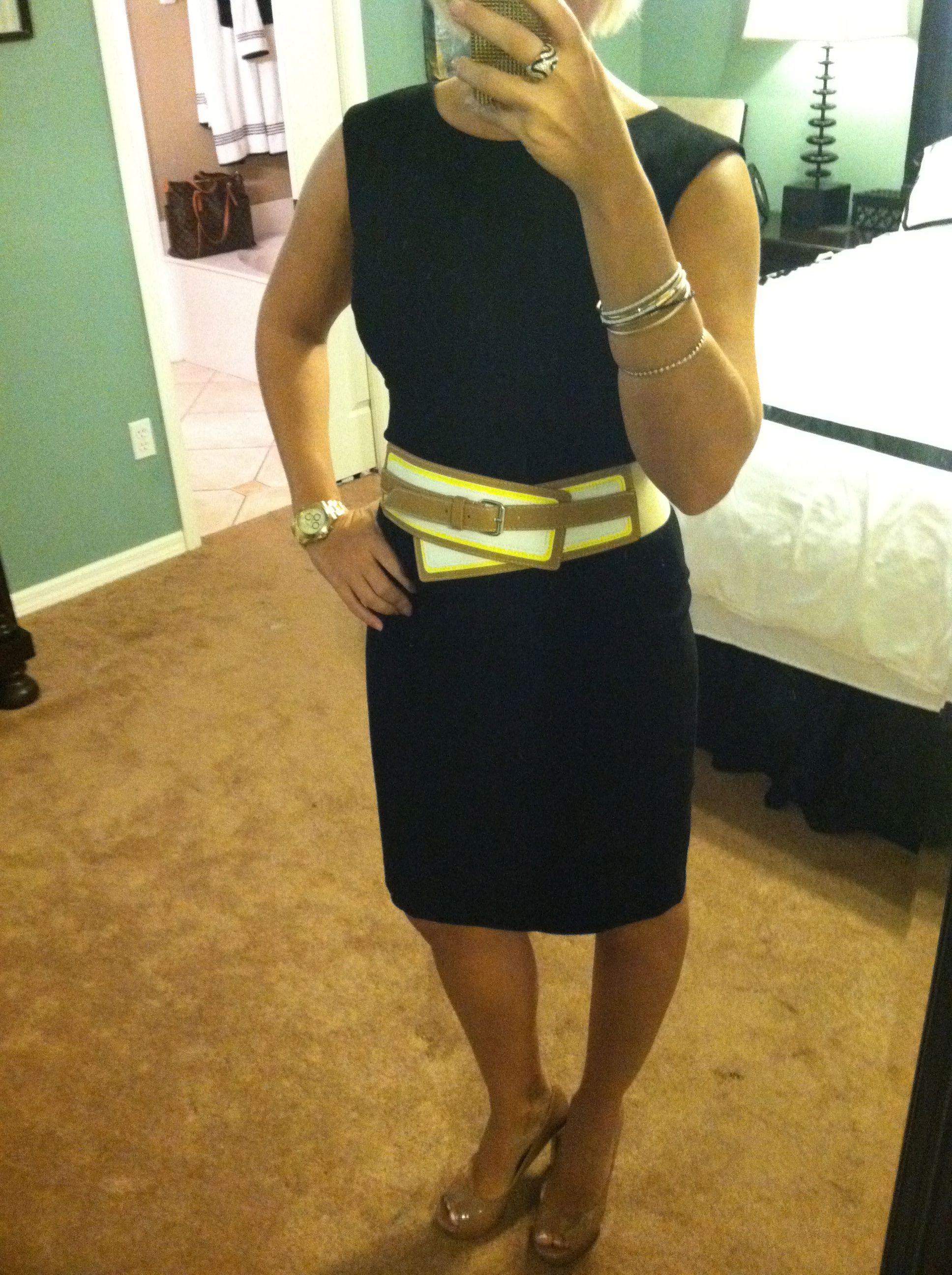 0edbf9db1cd1b Dress - Calvin Klein Belt - TJ Maxx Shoes - Vince Camuto - Dillards Watch -  Invicta Mens