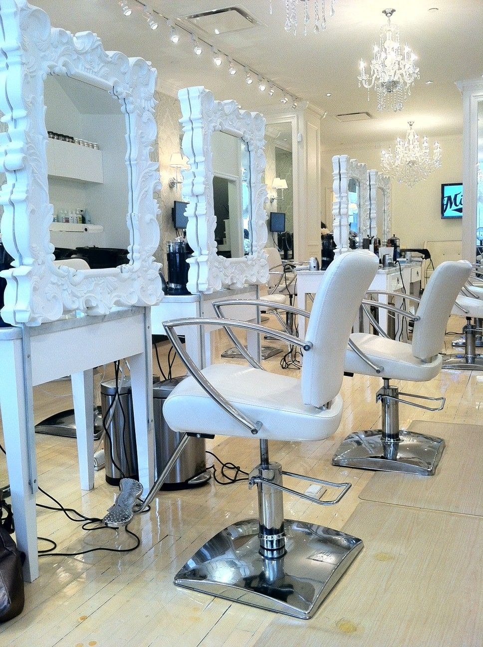 Salon Inspiration Station Inspiration Salon Hair Salon Interior Curly Girl