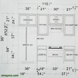 Standard Kitchen Cabinets Dimensions | Kitchens I Love | Pinterest ...