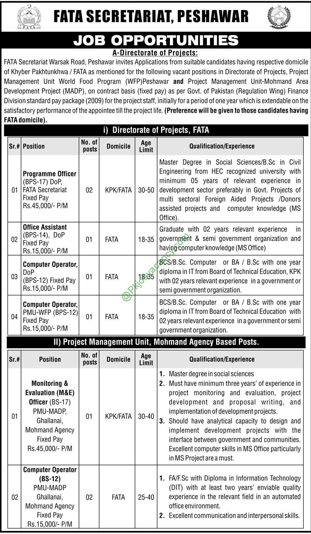 Fata secretariat peshawar jobs 2017 nts application form download fata secretariat peshawar jobs 2017 nts application form download falaconquin