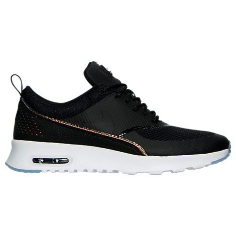 hot sale online 66bd3 1d0f7 ... Womens Nike Air Max Thea Premium Running Shoes - 616723 616723-014 Finish  Line ...