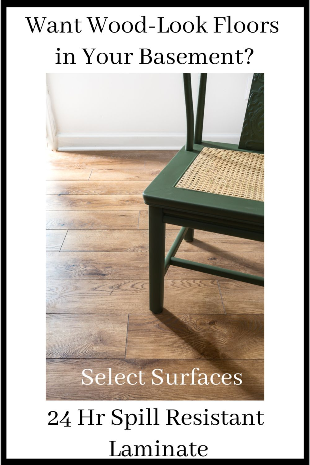 Why we installed Select Surfaces Laminate Floors in our