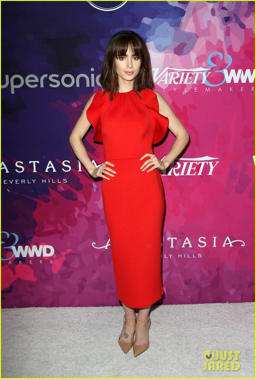 Lily Collins   fashion   Pinterest   Hermosa