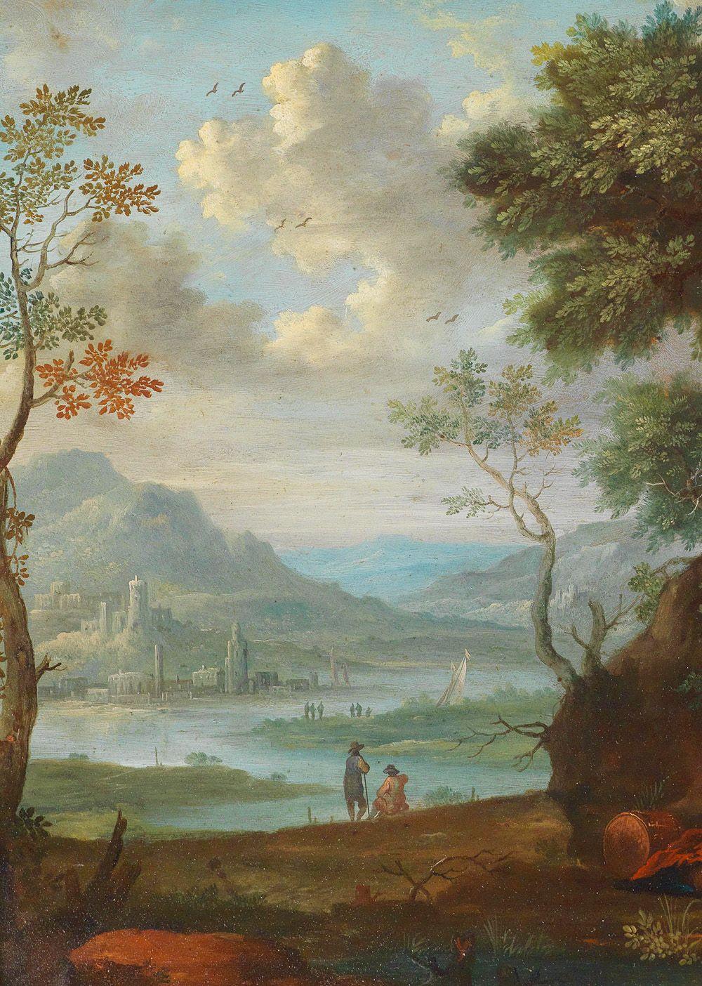 "jaded-mandarin: "" Mountain Landscapes, 18th Century  Detail"