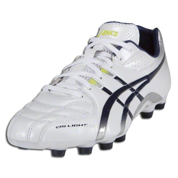 34aa66eb Asics DS Light 5 Wide Fit - Pearl White/Navy/Metallic Silver/Limeade ...