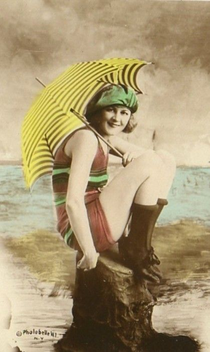 Parasols Were A Popular Sun Accessory In The 1920s Vintage