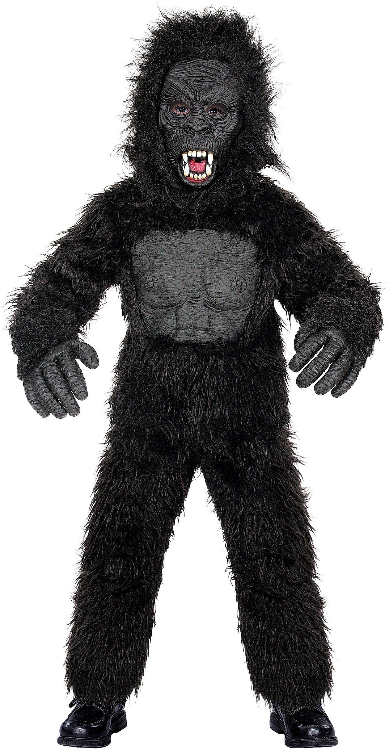 Mighty Gorilla Child Costume | Bigfoot costume, Children costumes ...