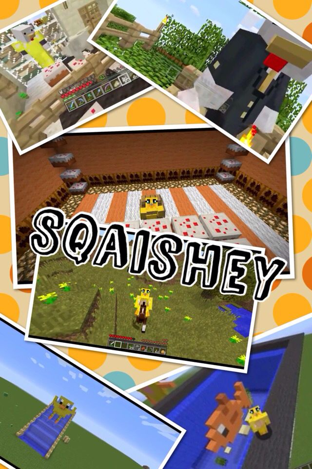 Sqaishey Quack made this with pic collage!!! Pic Collage Pinterest Collage and Craft