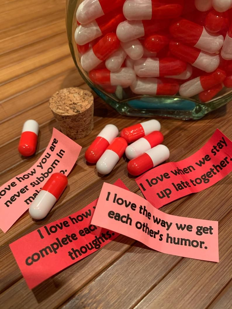 Personalized Love Pills, Secret Love Messages in G