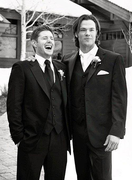 Jensen Ackles And Jared Pafalecki The Padalecki Wedding