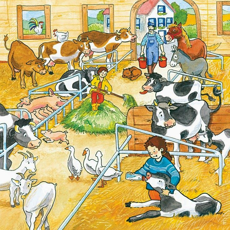 Сочинение про ферма по картинке