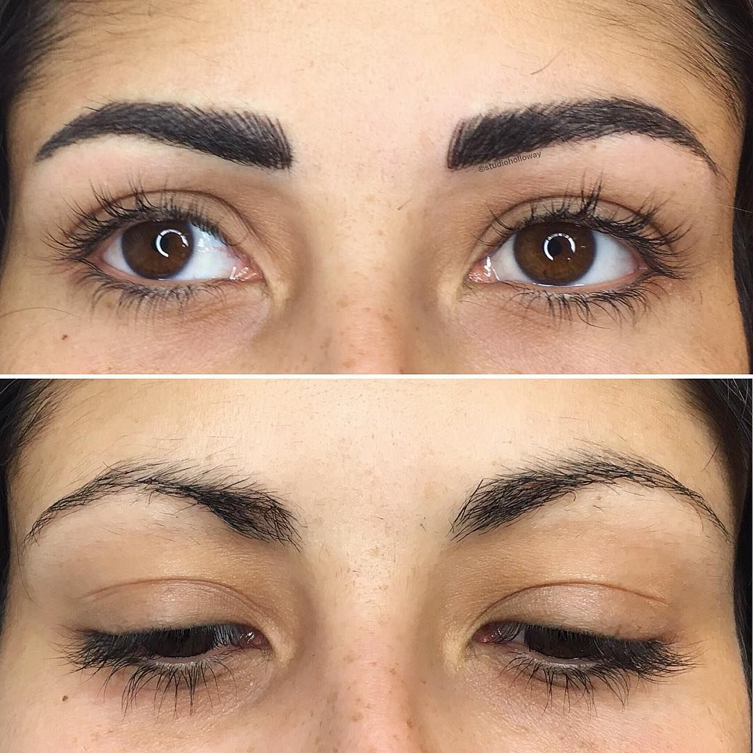 Permanent Brows Sourcils Permanents Permanent Makeup Maquillage