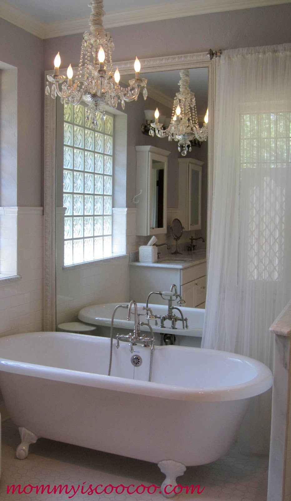 how to remove a large vanity mirror remodel mine. Black Bedroom Furniture Sets. Home Design Ideas