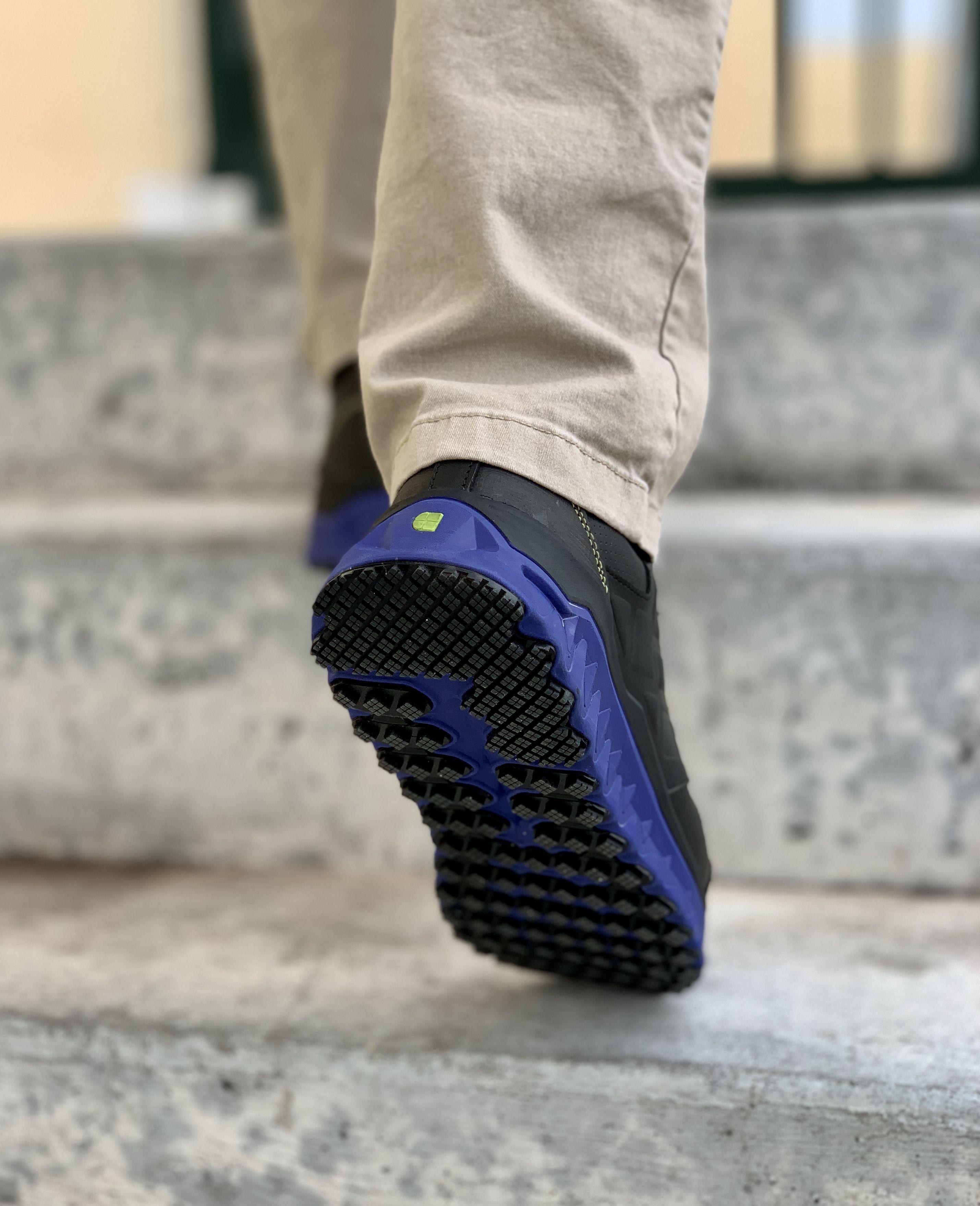 Bridgetown Aluminum Toe Men S Blue Work Sneakers Athletic