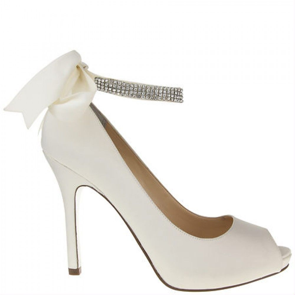 Ivory Karen By Nina Bridal Shoes Nina Bridal Shoes Bridal Shoes Ivory Bridal Shoes