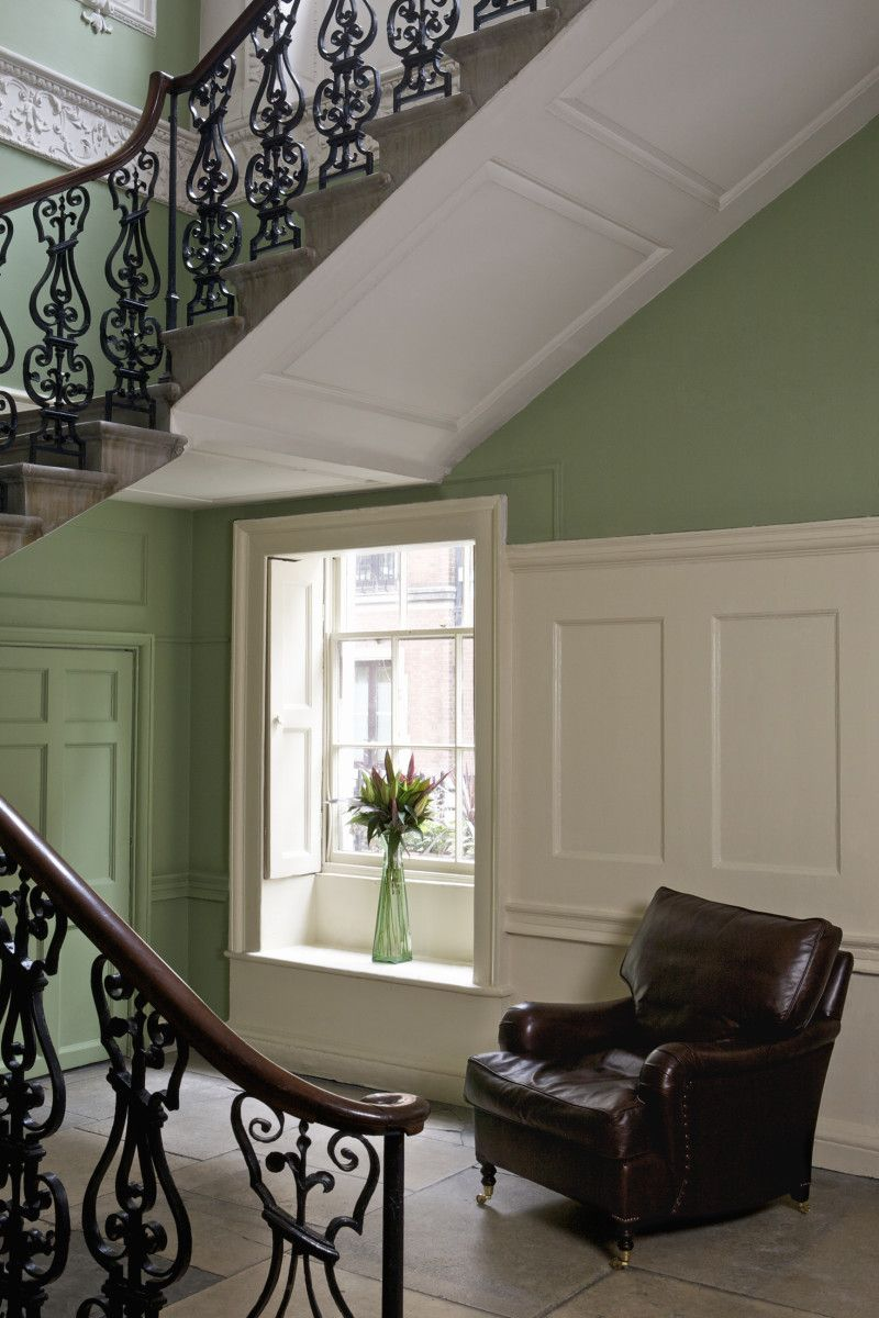 Breakfast Room Green Hall And Stairs Kitchen Thoughts