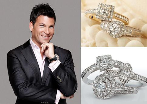David Tutera designed Wedding Sets Bride and Groom Rings
