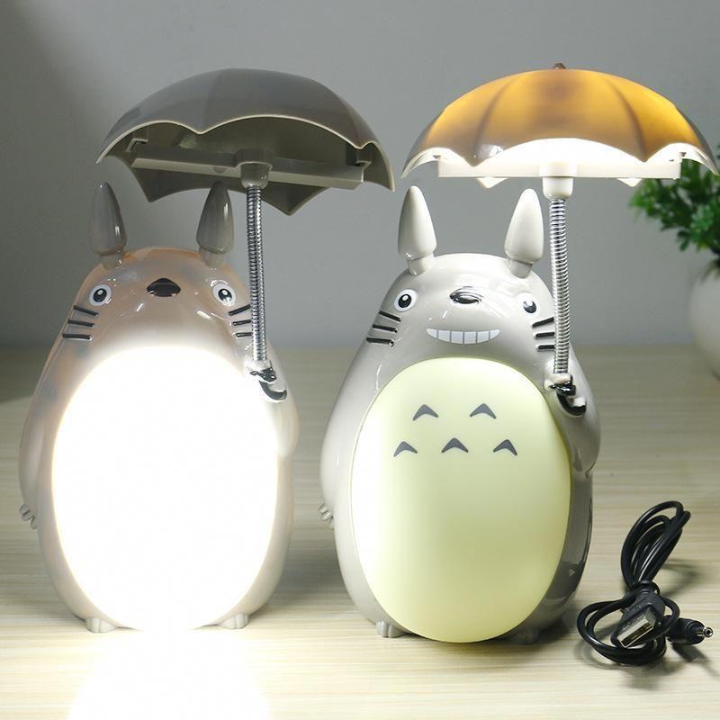 Kawaii Cartoon My Neighbor Totoro Lamp Led Night Light Usb Reading Table Desk Lamps For Kids Gift Led Night Light My Neighbor Totoro Night Light Kids