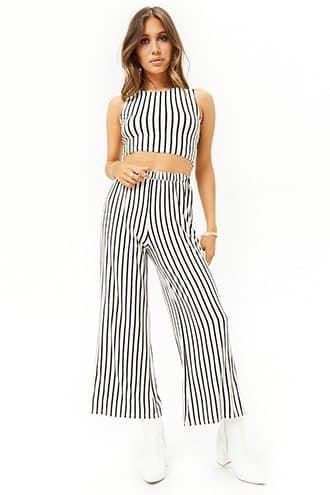 c3a7db9925d5 Striped Cropped Pants Pant Jumpsuit