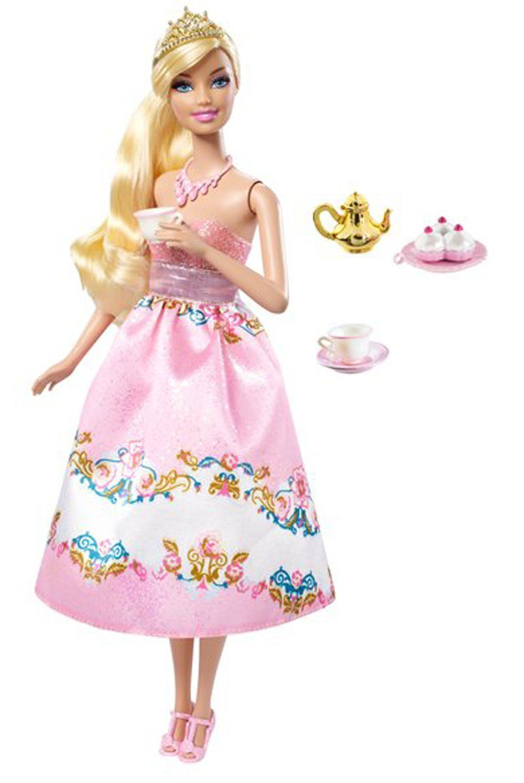 Barbie Princess Tea Party Barbie Doll   Muñecas y muñecos ...