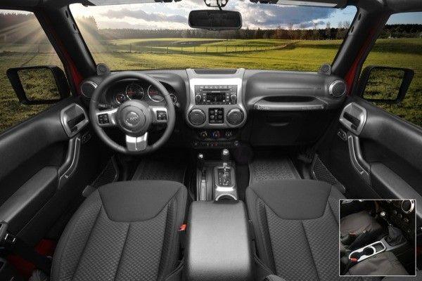 Interior Trim Accent Kit Charcoal Manual 11 13 Jeep 2 Door