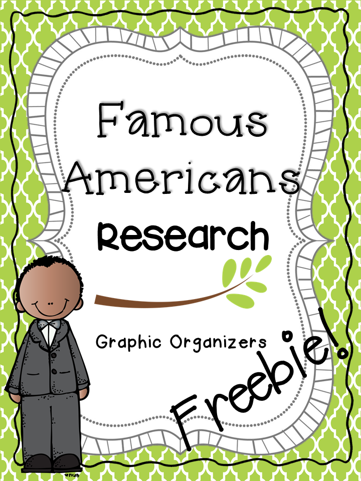 009 Famous Americans Studying Biographies and Learning about