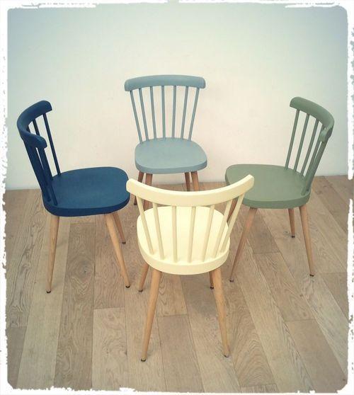 chaises vintage baumann 740 pieds compas revisit es oompa meubles et d coration vintage. Black Bedroom Furniture Sets. Home Design Ideas