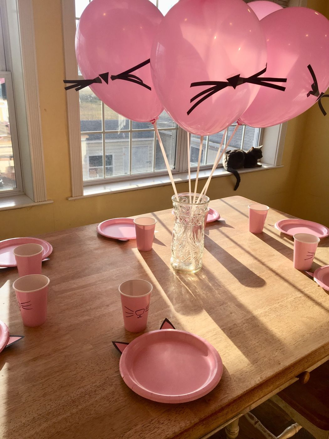 Kitty Cat Birthday Party Theme on a Budget