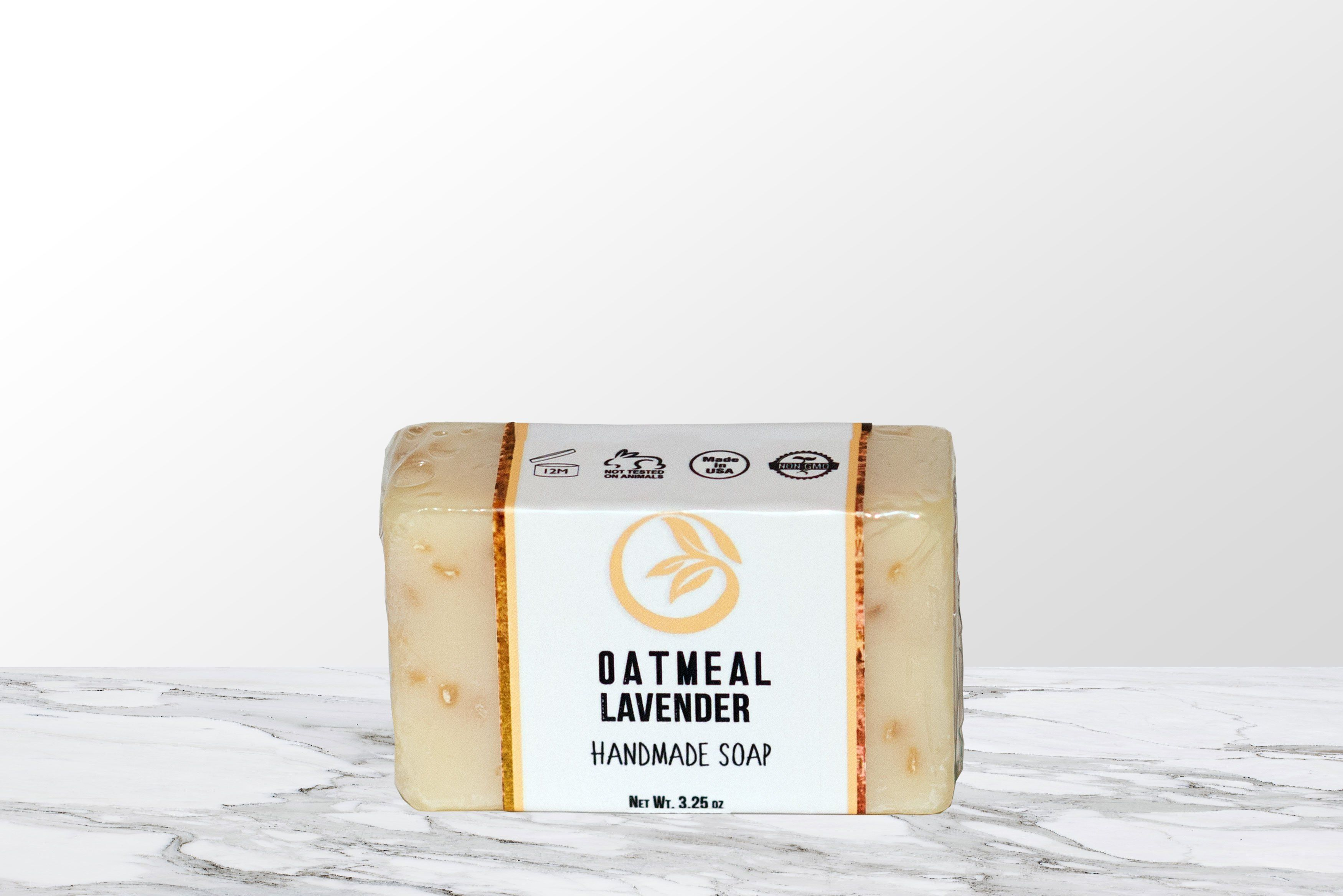 Eczema Calming Oatmeal Lavender Soap Oh It's Natural