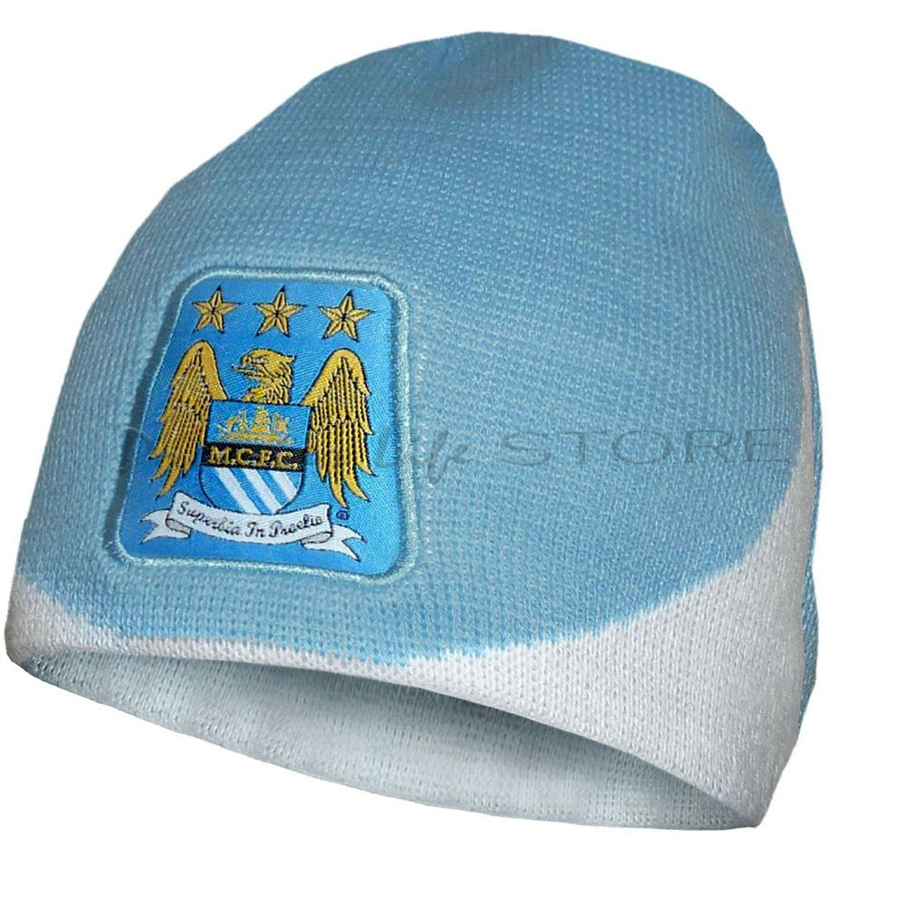 ad18710a97e Manchester City F.C. dome knitted hat. We recommend that you do not rely  solely on