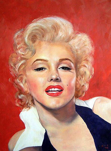 Marilyn Monroe Painting 11