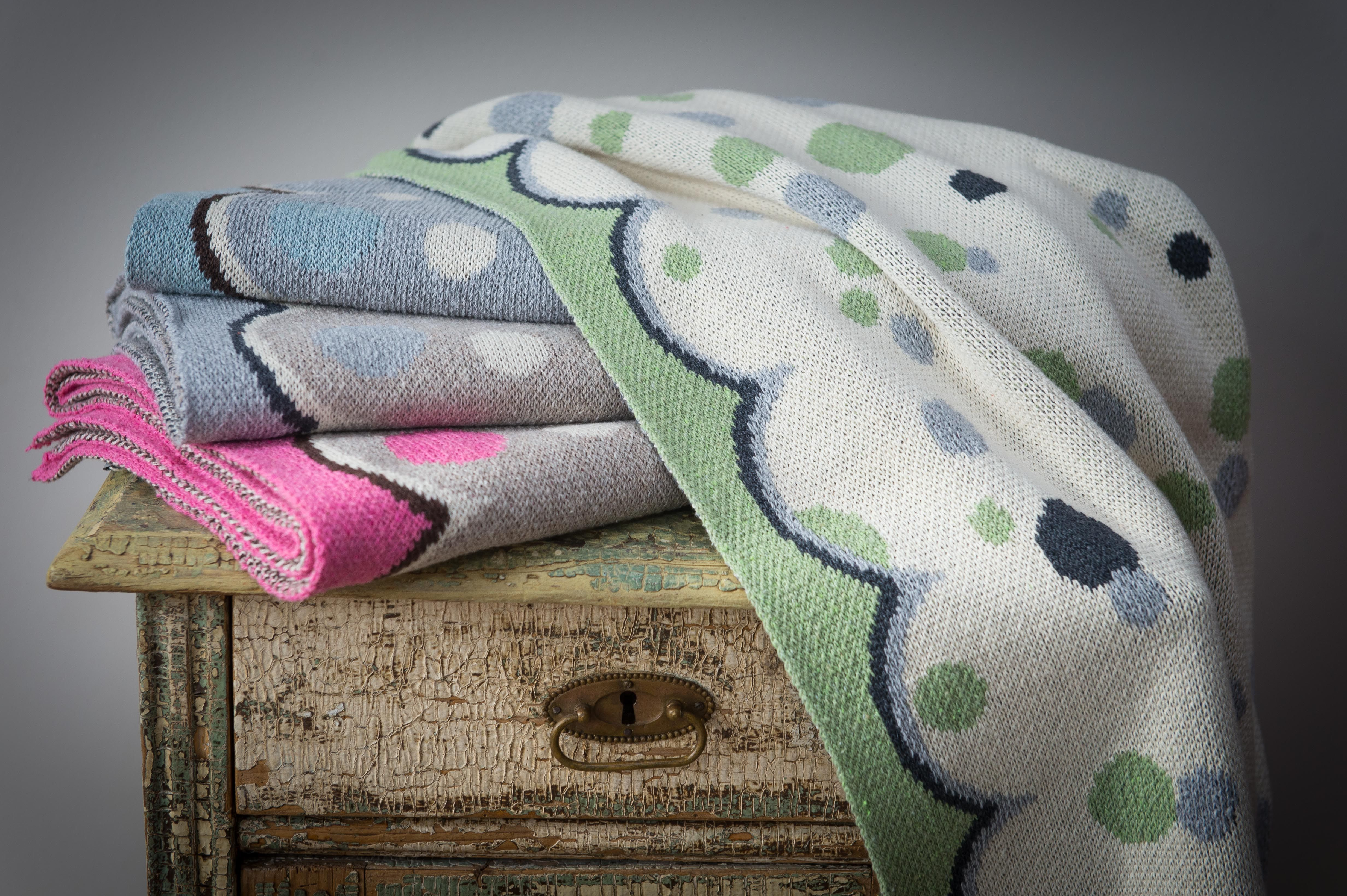 Recycled Cotton Baby Blanket | Made in USA