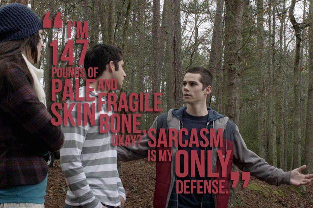 #StilesStilinski #DylanO'Brien #S02E06 #Frenemy #TeenWolfQuotes #StilesQuotes #Quotes #TW