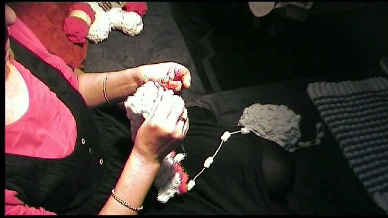 Ela Spaß Mit Pompon Wolle Stricken Pinterest Stricken Und