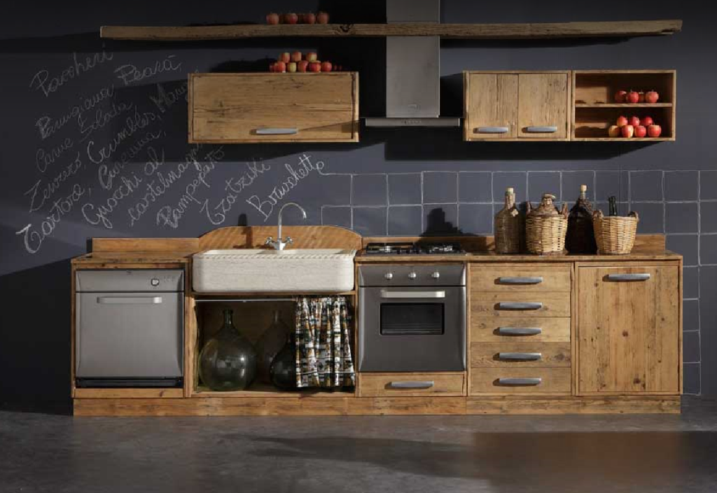 cucina legno grezzo - Cerca con Google | For the Home | Pinterest ...