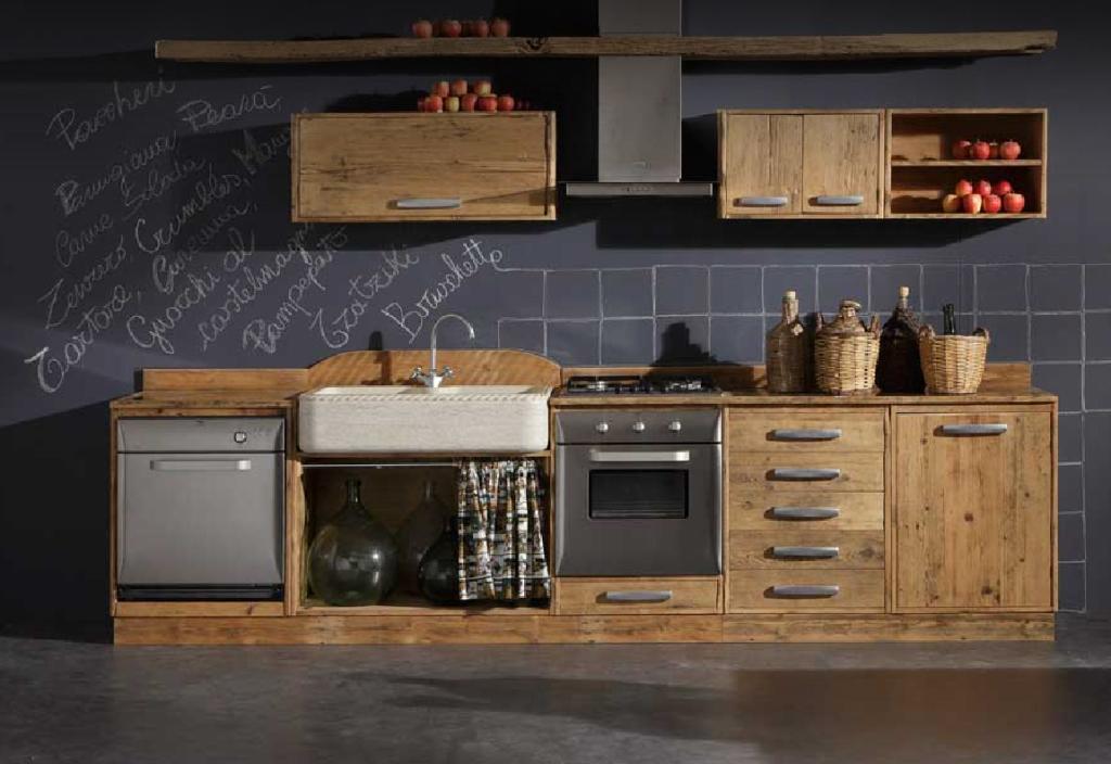 cucina legno grezzo - Cerca con Google | kitchen | Pinterest ...