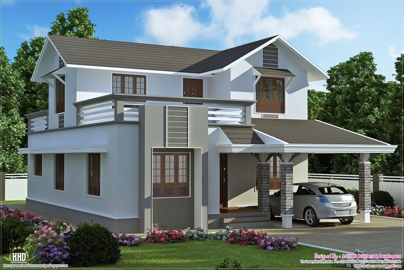 7 Minimalist Design A House Luxury On January 2013 Kerala Home Design And  Floor Plans