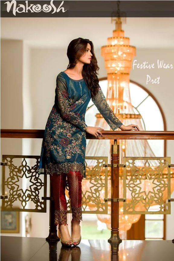 3a3b363fbe Nakoosh Ready Wear Formal Collection 2016-17 | Women Fashion ...