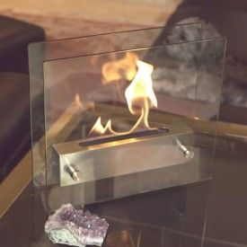 Sexxy Nightstand Fireplace