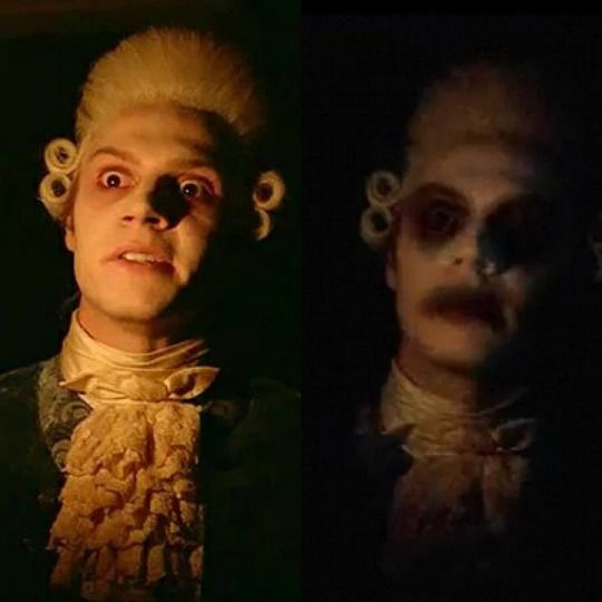 Evan Peters As Edward Philippe Mott Ahs My Roanoke Nightmare