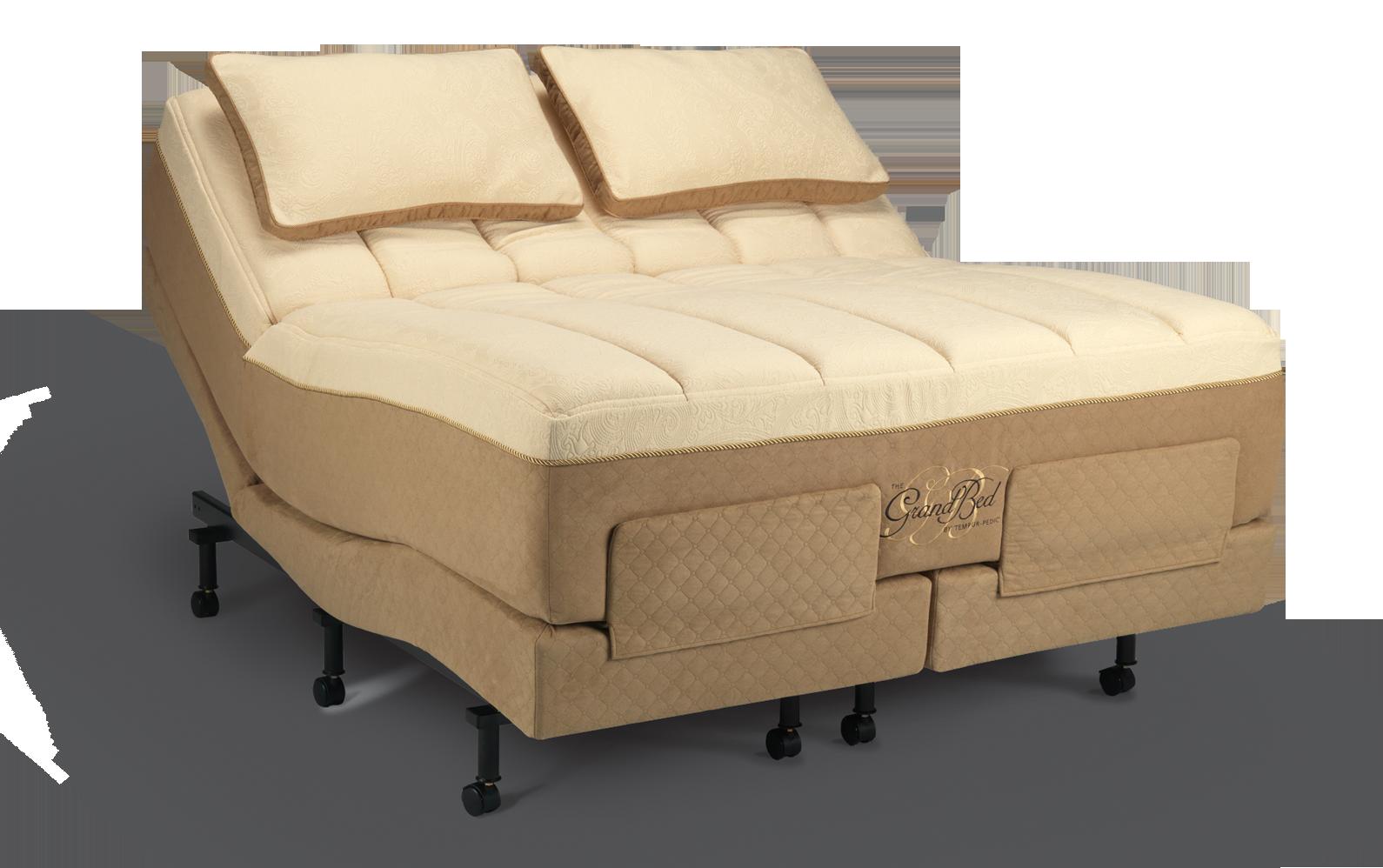 Temperpedic Grand Bed mattress on Advanced Ergo adjustable