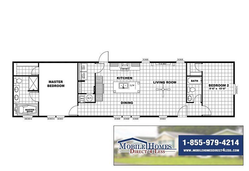 Clayton Mini Resolution Rsv16682x Mobile Home Mobile Homes For Sale Mobile Home Floor Plans