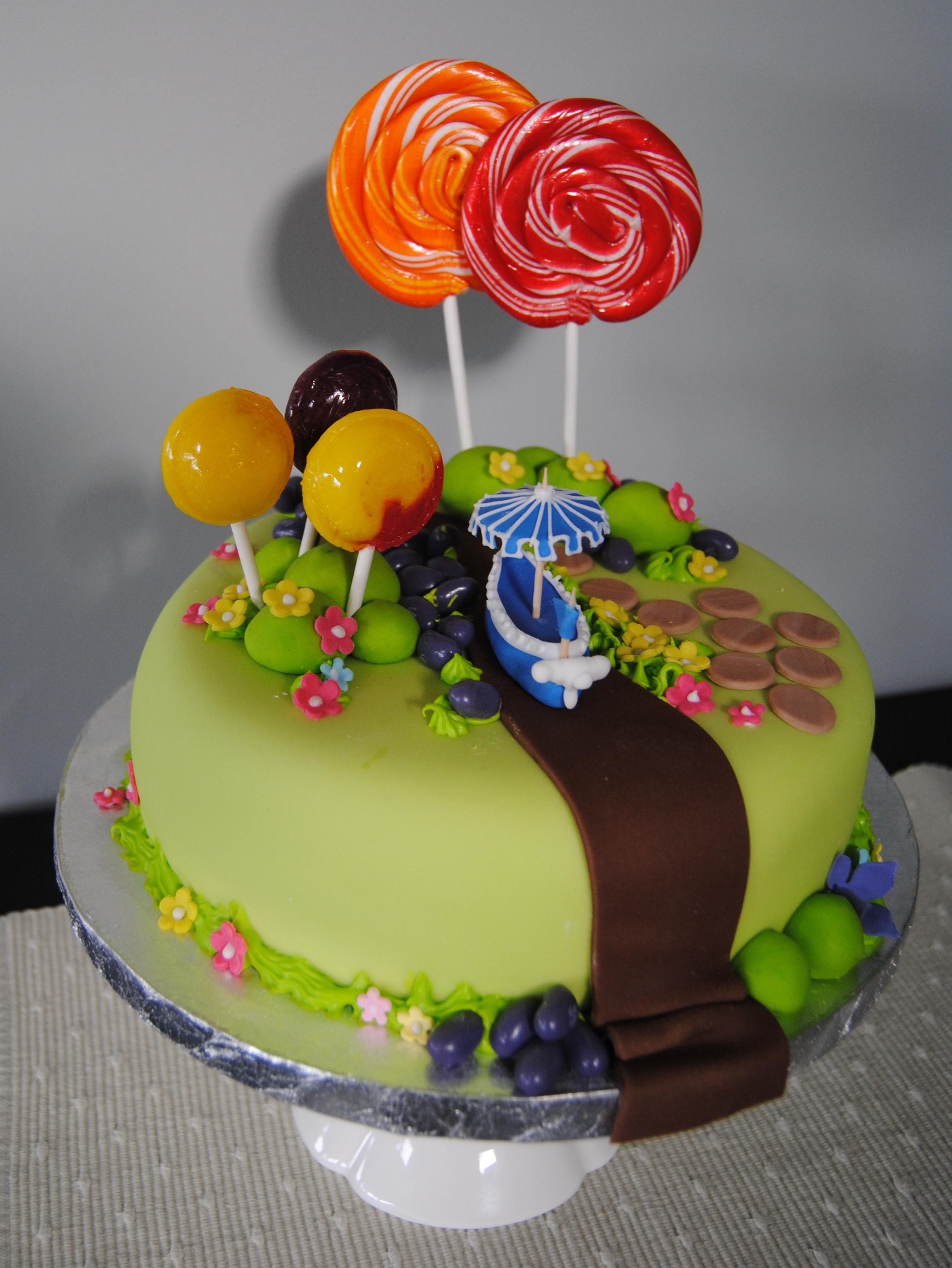 Charlie The Chocolate Factory Birthday Cake There S No