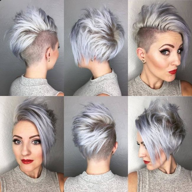 Silber farbe haare  Eine winterliche coole Farbe …, silbergrau! 10 lässige ...